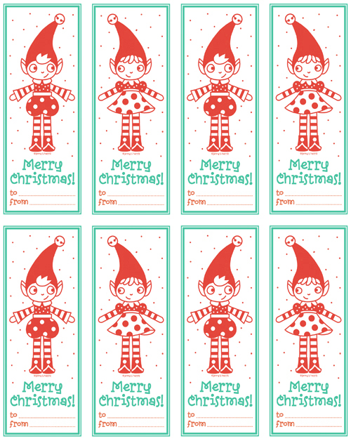 graphic about 12 Days of Christmas Printable Tags called 12-Times of Xmas Freebies - Working day 1 - Collage Ss
